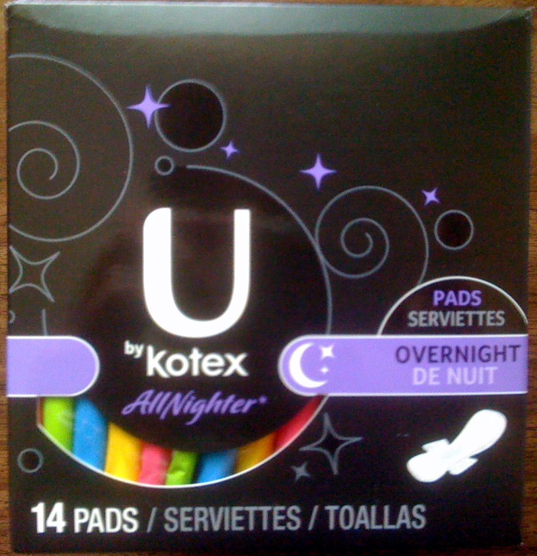 "U by Kotex – Overnight Pads ""All Nighter"" Review 