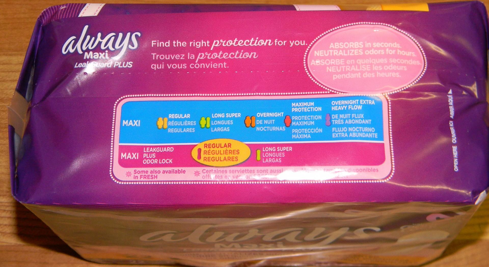 Transvestite menstrual pad odor really. And